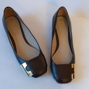 Naturalizer brown leather flats-sz 8M